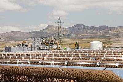 Andasol Solar Power Station Print by Ashley Cooper