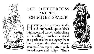 Andersen Shepherdess Print by Granger