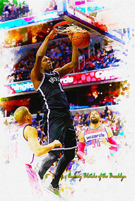 Andray Blatche Of The Brooklyn Original by Don Kuing