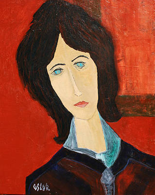 Painting - Andrea II by Oscar Penalber
