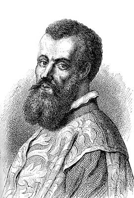 Andreas Vesalius Print by Collection Abecasis
