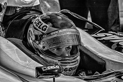 Andretti Photograph - Andretti Driver by Kevin Cable