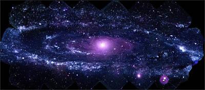 Andromeda Galaxy (m31) Print by Nasa/swift/stefan Immler (gsfc) And Erin Grand (umcp)