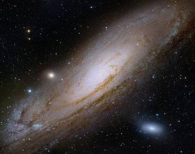 Digitized Image Photograph - Andromeda Galaxy by Robert Gendler