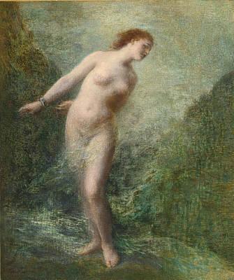 Henri Fantin-latour Painting - Andromeda by Henri Fantin-Latour