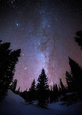 Colorado Mountains Photograph - Andromeda Our Neighbor by Darren  White