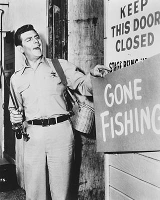 1960 Photograph - Andy Griffith In The Andy Griffith Show by Silver Screen