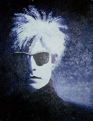 Monotone Painting - Andy Warhol Cover Reproduction by Mike Manzi