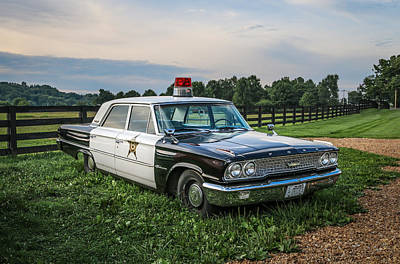 Andy Griffith Show Photograph - Andy's Car by EG Kight