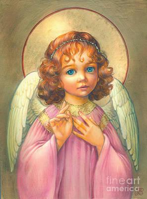 Angel Child Print by Zorina Baldescu