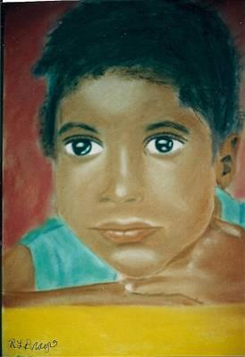 Painting - Angel Eyes by Robert Bray