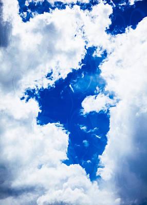 Mazama Mixed Media - Angel In The Sky by Omaste Witkowski