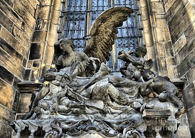 Prague Photograph - Angel by Justyna JBJart