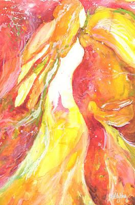 Angel Print by Kelly Perez