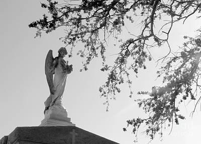 Angel Of Faith Print by Elizabeth Fontaine-Barr