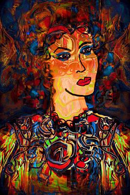 Angel Of Hope Print by Natalie Holland