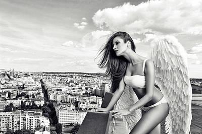 Angel Print by Stefan Amer