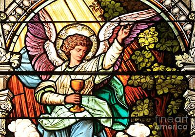Religious Art Photograph - Angel With A Chalice by Adam Jewell