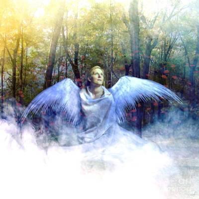 Roses Digital Art - Angelic by KJ Bruce - Creatocity