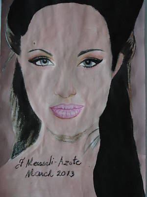 Angelina Print by Fladelita Messerli-