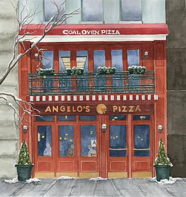 Angelo's On 57th Street Print by Rhonda Leonard
