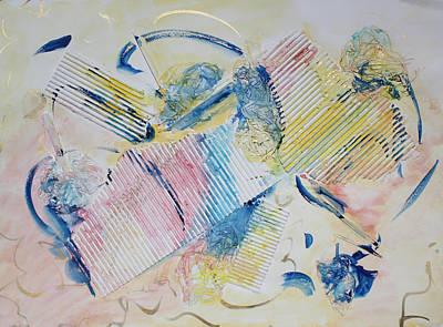Angels Lingering Print by Asha Carolyn Young