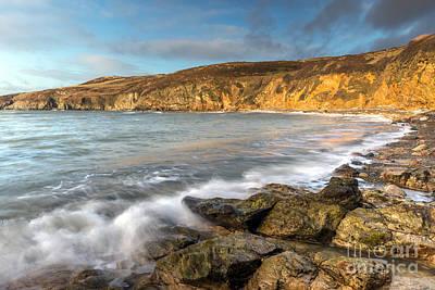 British Digital Art - Anglesey Bay by Adrian Evans