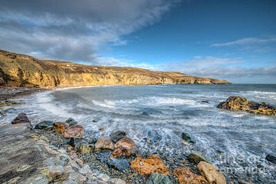 North Wales Digital Art - Anglesey Seascape by Adrian Evans
