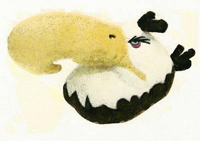 Angry Head Eagle Print by Odon Czintos