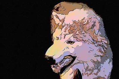 Angry Wolf Original by Toppart Sweden