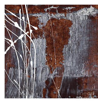 Liquid Emulsion Painting - Angst II by Paul Davenport