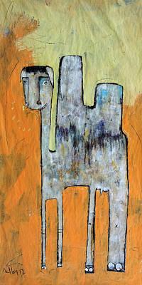 Mark M. Mellon Painting - Animalia Camelus 1 by Mark M  Mellon