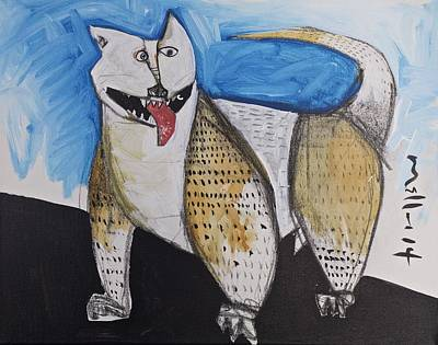 Animalia  Canis No. 10  Original by Mark M  Mellon
