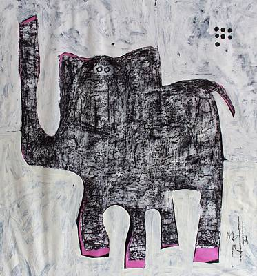 Painting - Animalia Elephanti No. 1 by Mark M  Mellon