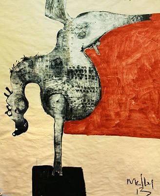 Animalia  Equos No 5 Original by Mark M  Mellon
