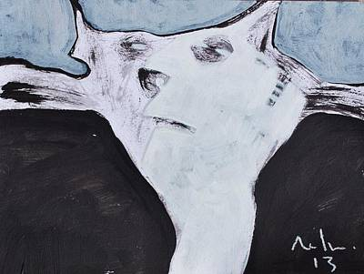 Painting - Animalia Feles No. 5 by Mark M  Mellon