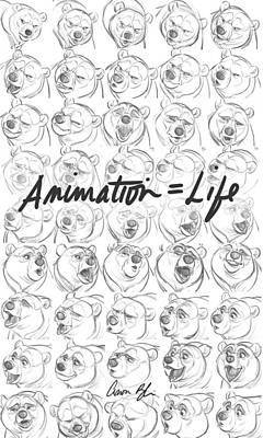 Digital Art - Animation  Life by Aaron Blaise