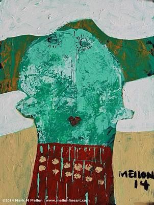 Spirit Mixed Media - Animus No. 47  by Mark M  Mellon