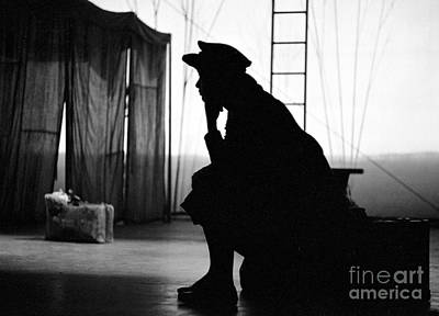 Perform Photograph - Anna Maria Alberghetti On Stage In 1961 In Carnival by The Phillip Harrington Collection