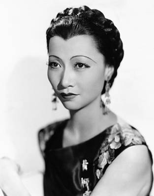 Anna May Wong, Paramount Portrait, 1934 Print by Everett