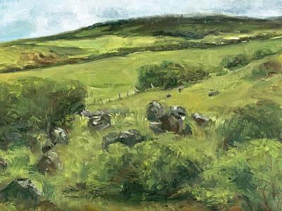 Haleiwa Painting - Anna Ranch Waimea by Stacy Vosberg