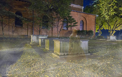 Ectoplasm Photograph - Annapolis Ghost by Brian Wallace