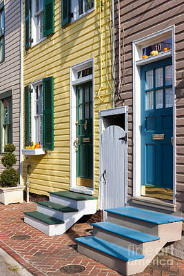 Portal Photograph - Annapolis Historic Homes I by Clarence Holmes