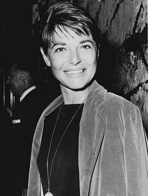 Recognize Photograph - Anne Bancroft At A Premier Of  The Manchurian Candidate In 1962 by Mountain Dreams