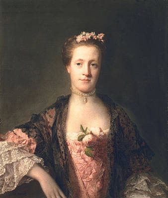 Aristocrat Painting - Anne Garth-turnour, Baroness Winterton by Allan Ramsay