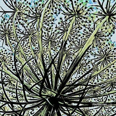 Lace Digital Art - Anne Lace by Dragica  Micki Fortuna