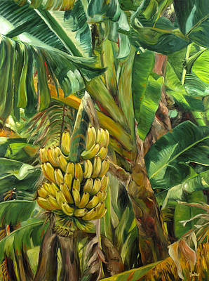 Haleiwa Painting - Annie's Bananas by Stacy Vosberg