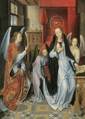 Annunciation Print by Hans Memling