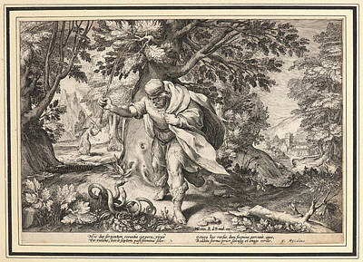 Anonymous After Hendrick Goltzius Dutch Print by Litz Collection