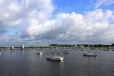 Another Beautiful Day In Newburyport Original by Suzanne DeGeorge